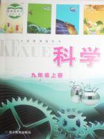 浙教版九年级科学上册